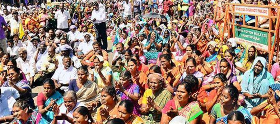 Indefinite strike by Municipal workers at Hassan