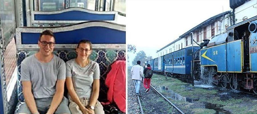 First British couple chartered Nilgiri Train as Honeymoon Trip
