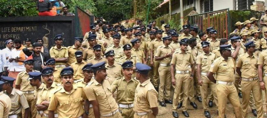1500 Police deployed in and around Sabarimala Temple