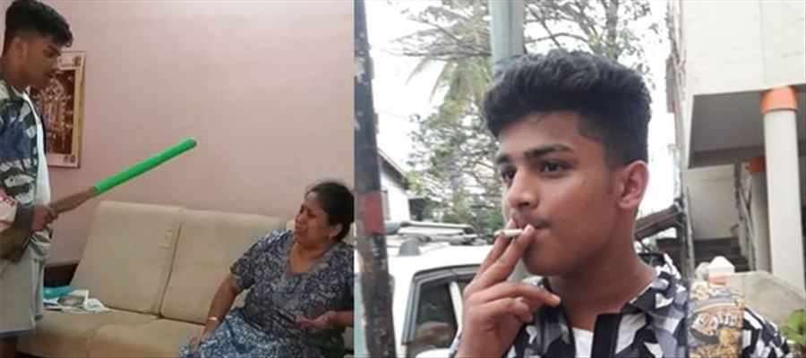 Bengaluru boy uses Broomstick to beat his Mother