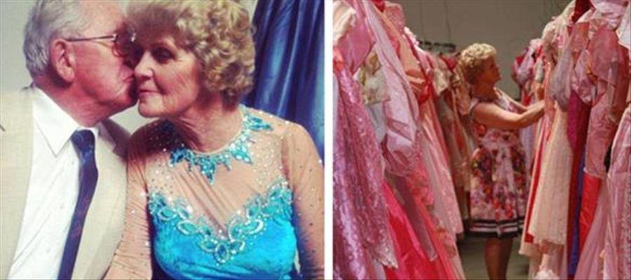 This German Woman has around 55,000 Dresses
