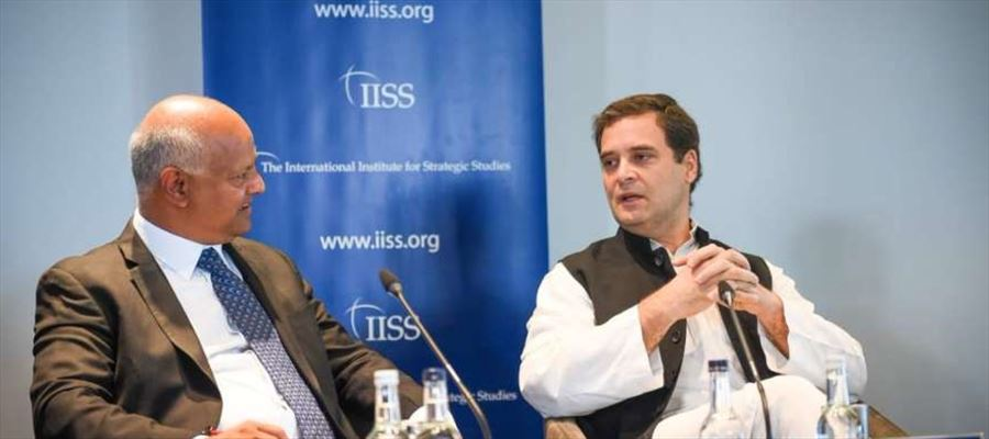 Rahul Gandhi accused RSS of trying to change nature of India