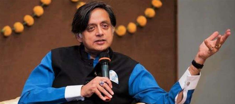Major controversy debate between BJP & Congress by Shashi Tharoor