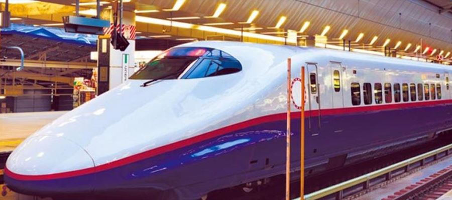 Bullet train takes 1 hour 38 minutes from Delhi to Lucknow