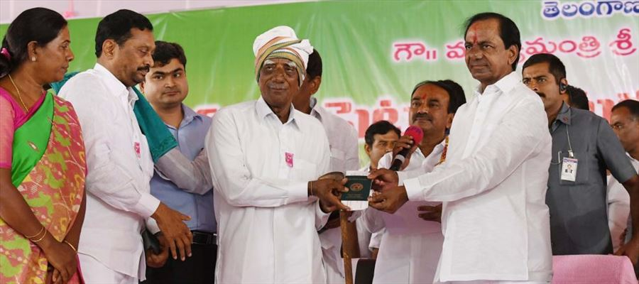 Telangana Government signs MoU with LIC to implement Rythu Bandhu