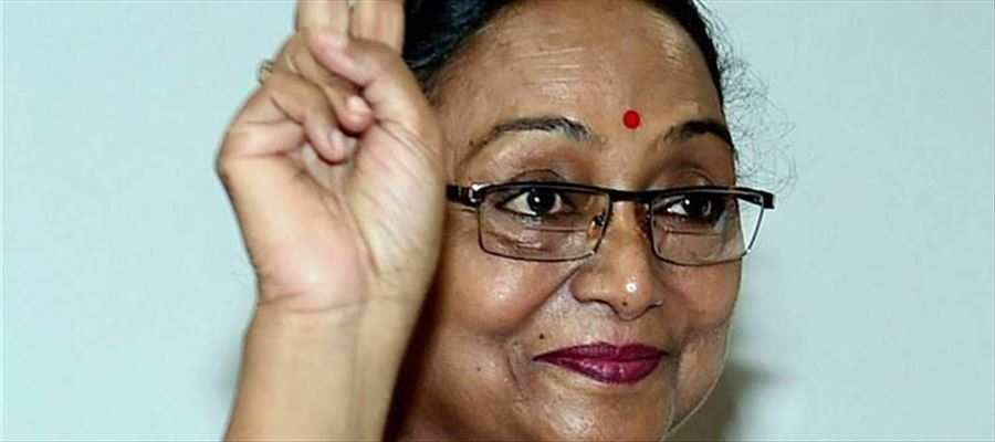 Meira Kumar met Arvind Kejriwal for seeking his support