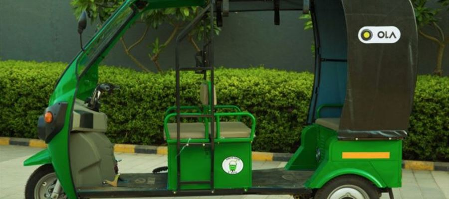 Ola plans to launch one million e-auto rickshaws by 2021