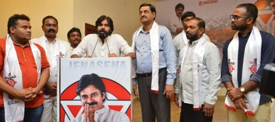 Janasena party looking for candidates..