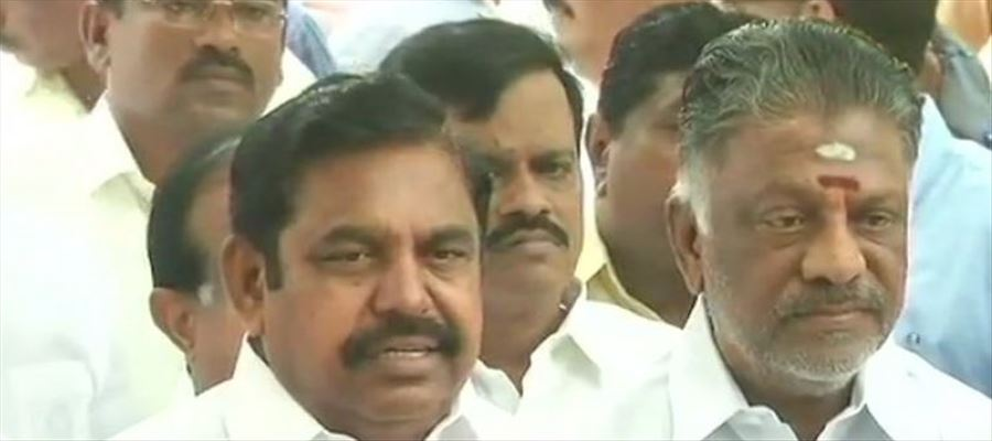 CM Palanisamy's said anti social elements took protesters to wrong path