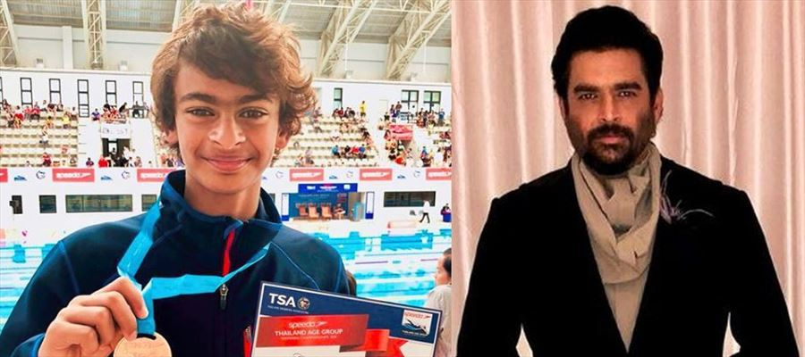 Proud Father, Actor Madhavan's son won Bronze medal at International Swimming Competition