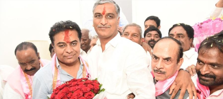 KTR becomes TRS Working President