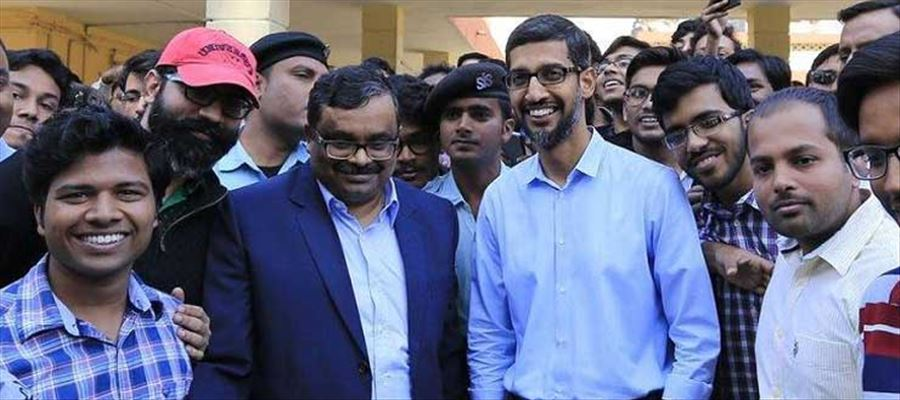 Why Sundar Pichai did not cast his vote in Tamilnadu?