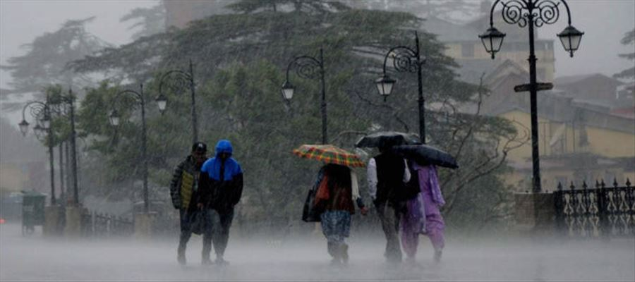 IMD forecast heavy to very heavy rains for next three days