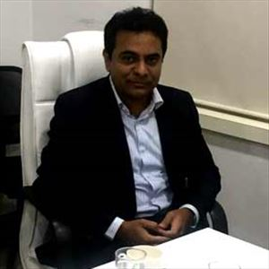 KTR welcomed Biocon's decision to set up R&D center in Hyderabad