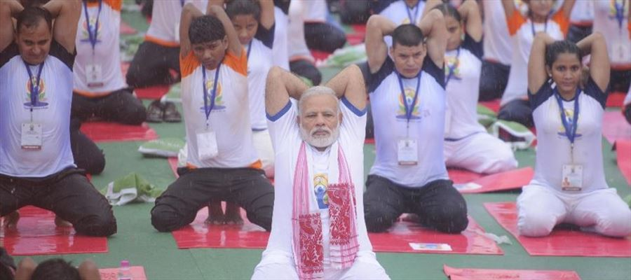 Secret of PM Narendra Modi's energy and hard work is Yoga