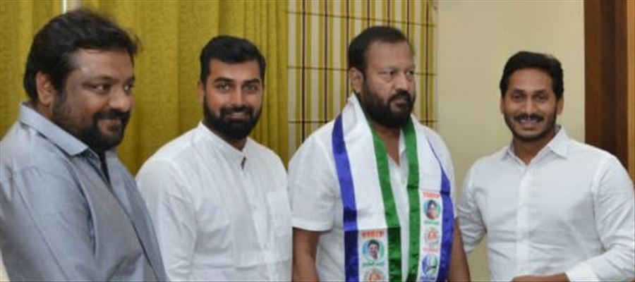 Jr. NTRs Father in Law joined YSRCP only for YS Jagan