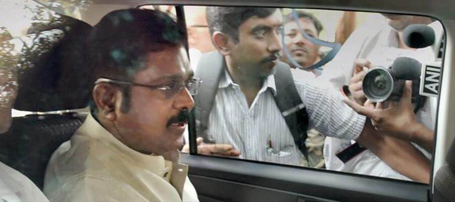 Along with Mr. Dhinakaran, his close friend Mallikarjuna was taken into custody