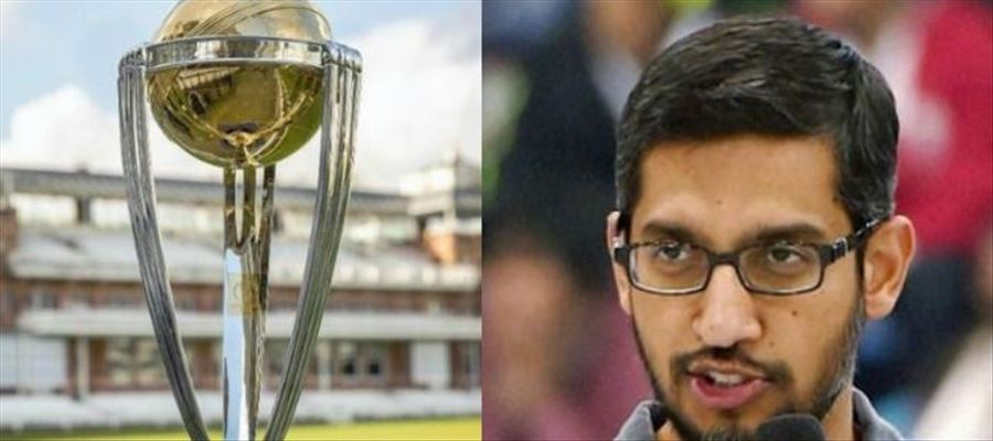 Sundar Pichai feels India & England will lock horns in the World Cup Finals
