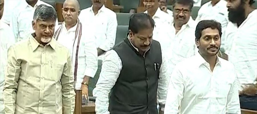 Chandrababu Finally Mends His Ways in the Assembly