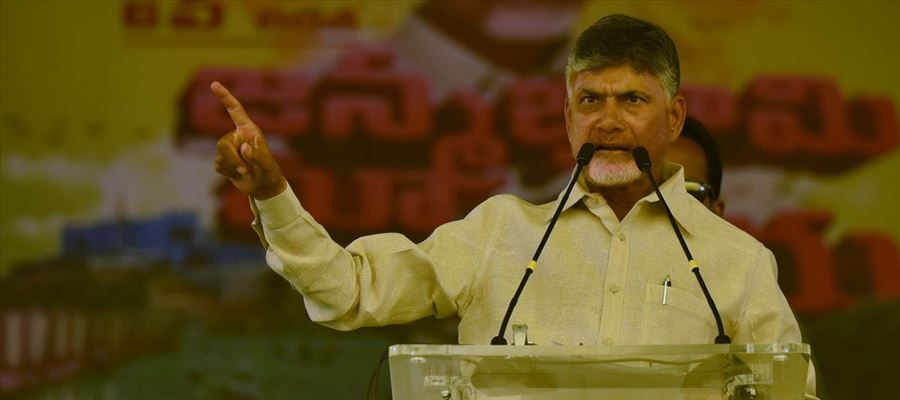 Chandrababu Naidu's Circus on EVMs Malfunctioning