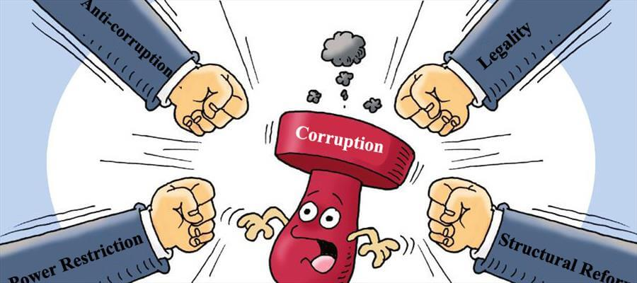 the issue of corruption in todays government