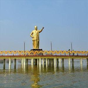 CM Chandrababu Naidu unveiled NTR statue