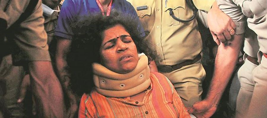 In-laws refused to accept Daughter-in-law who entered Sabarimala Temple