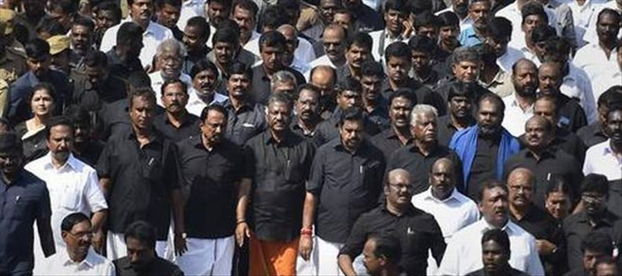 AIADMK Leaders remembered J. Jayalalitha on Second Anniversary Day