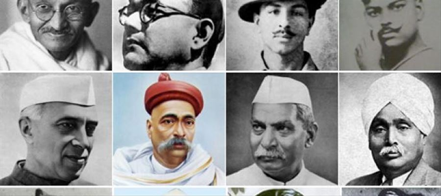 Top 5 Freedom Fighters in India