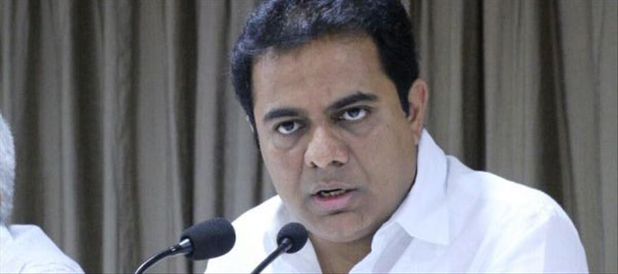 Thank You KTR for  bringing many investments to the state - Media shower praises!