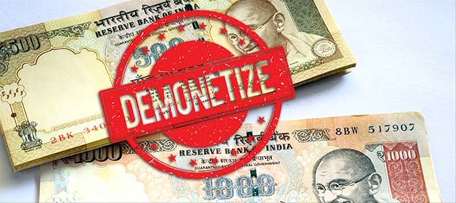 No Secondary Thoughts - Anniversary of 'First Demonetization Day' will be 'Black Day'