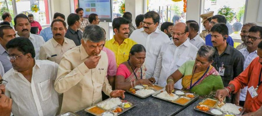 CM Chandrababu has history of taking credit for central government schemes