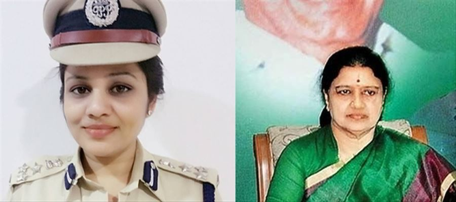 IPS officer D.Roopa transferred!!