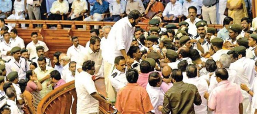 Kerala Assembly adjourned after disagreement in house over Sabarimala issue