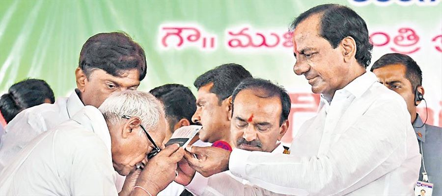 Rythu Bandhu Scheme launched for Telangana farmers