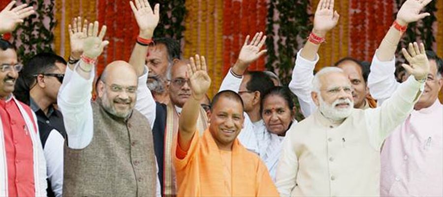 BJP sharply declining in UP, downfall is even wondering political pundits