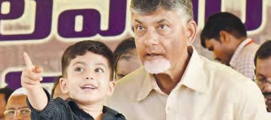 Chandrababu harping upon Polavaram project as a major feather in his cap