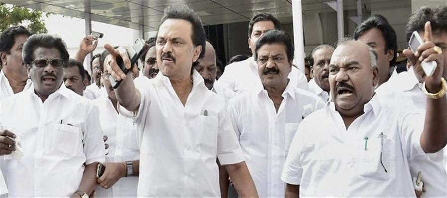 DMK Chief Stalin evicted from Secretariat premises