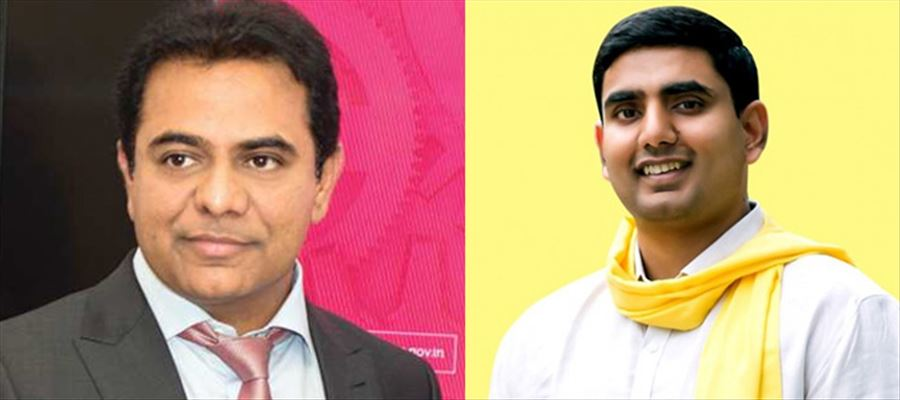 KTR a funny guy, Nara Lokesh a serious guy