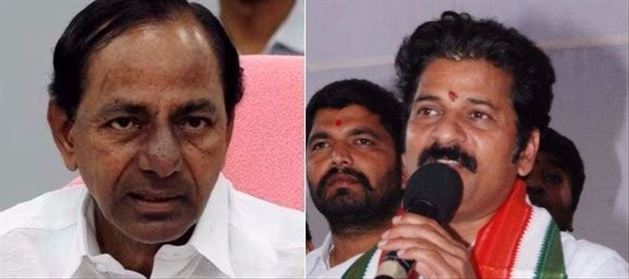 Revanth Reddy complaints about KCR to EC