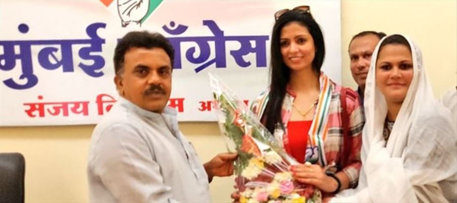 Indian Cricketer Mohammed Shami's wife joined Congress