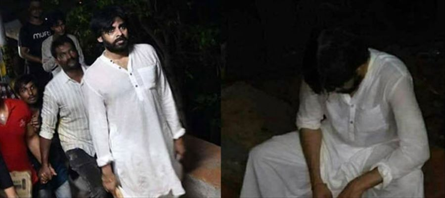 Janasena chief Pawan Kalyan shocked many by walking up to Tirumala