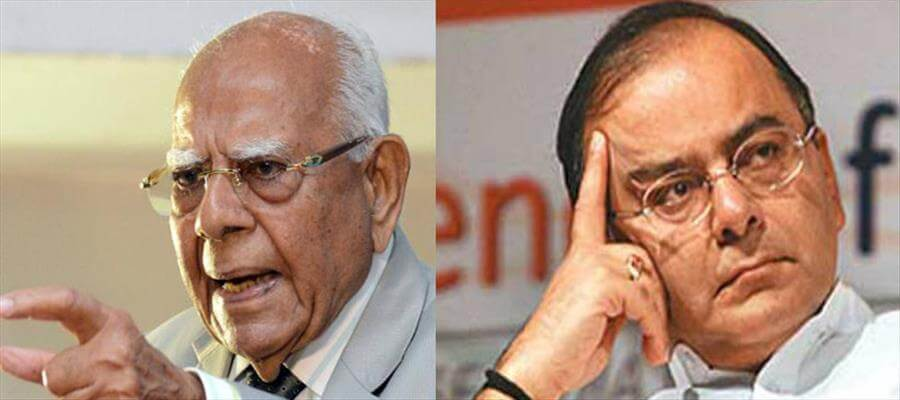 Jethmalani said he used the word on instructions of his client