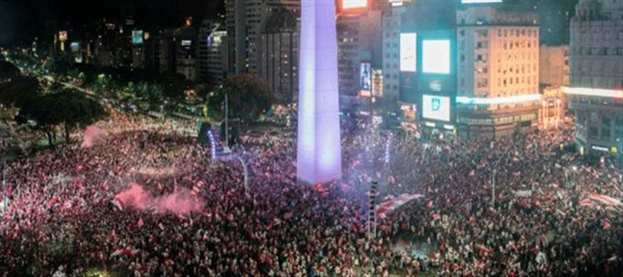 50 injured during New Year Celebrations in Buenos Aires