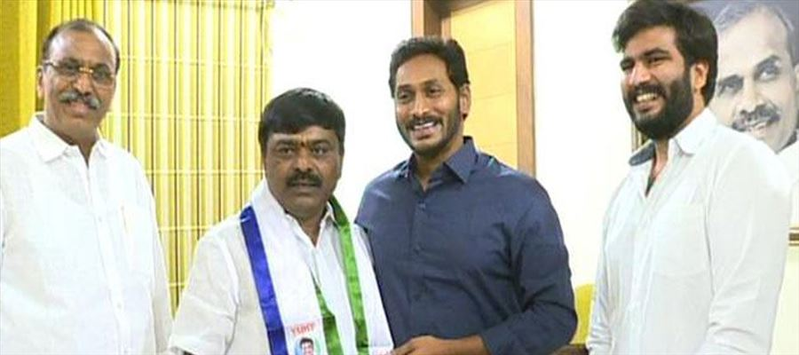TDP Party Loyalties from Tirupathi joining YSRCP