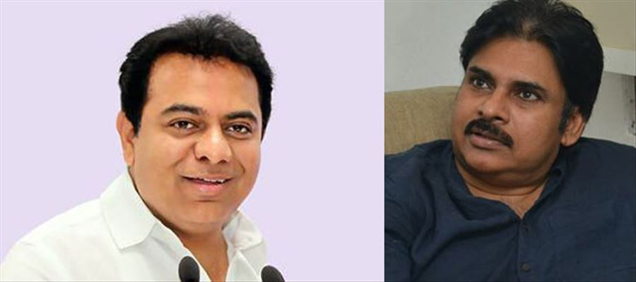 Leaders can take a lesson or two to watch KTR & Pawan words in public
