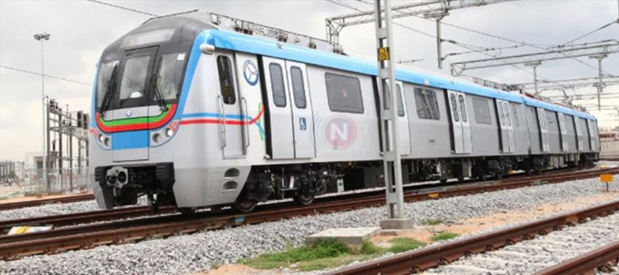 Hyderabad Metro Rail launched shuttle buses services