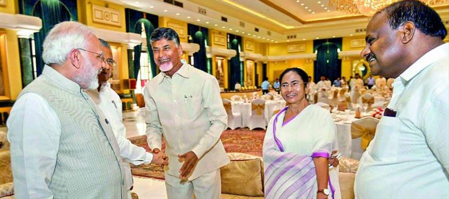 Why Chandrababu Naidu real face became evident while receiving PM?