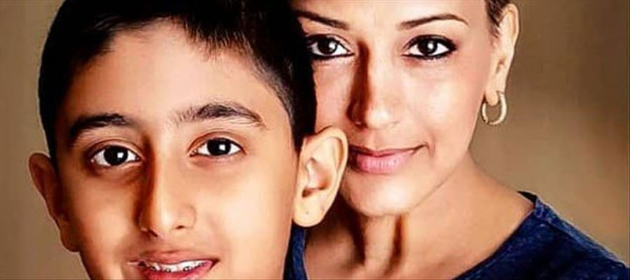Sonali Bendre's pens Emotional Post on sharing Cancer news to her Son Ranveer