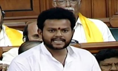Ram Mohan Naidu's Hindi speech in Lok Sabha became talking point